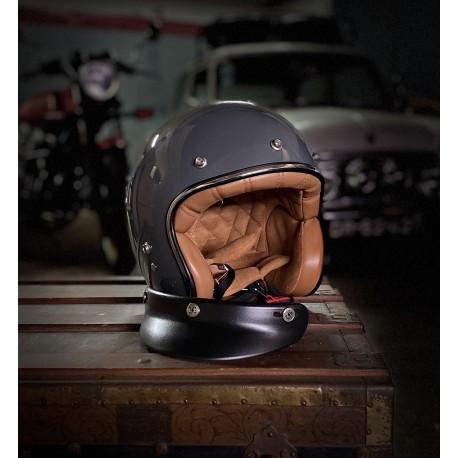 Capacete Cool Garage JET Cinza L